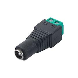Konektor Skręcany Akyga Ak-Sc-17 5.5 X 2.1 Mm (F) Utp Cctv