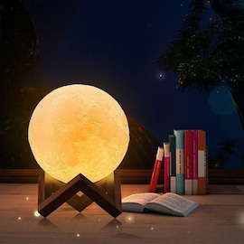 Lampka LUNA 3D - 16 kolorów