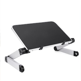 laptop Stand Portable Foldable Adjustable Laptop Desk Computer Table Stand Tray Notebook PC Folding Desk d20