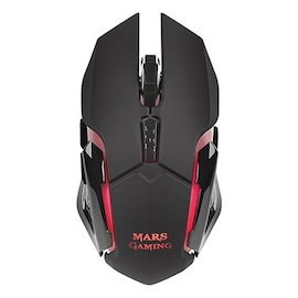 Led Gaming Mouse Mars Gaming Mmw 3200 Dpi Black