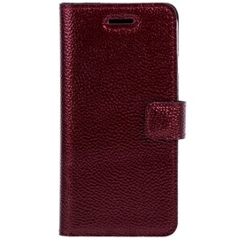 Lenovo / Motorola Moto G4 / G 4th Gen- Surazo® Phone Case Genuine Leather- Ferro Red