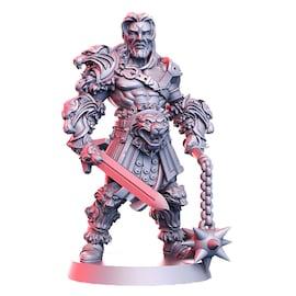 Lionel - gladiator, Figurka RPG
