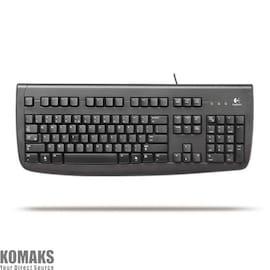 Logitech Deluxe 250 keyboard PS/2, BLK ( Estonian layout)