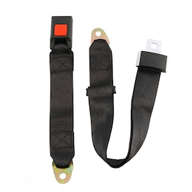 Lot2 Adjustable Seat Belt Car Truck Lap Belt Universal 2 Point Safety Travel