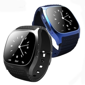 M26 Bluetooth Touch Screen Smart Watch  Blue