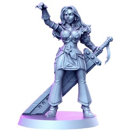 Margie - Rycerz, Figurka RPG