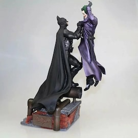 Marvel Batman VS Joker Statue Action Figure Toy 300mm Diorama Figurals Model Toys Anime Batman Joker Figurine Brinquedos Movie & TV