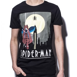 Marvel - Spiderman up side-down T-Shirt S Multi-colour