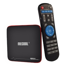 Mecool M8S PRO W TV Box - 2.4G, 2GB RAM, 16GB ROM, Android, MAG625X 4K VP9 - Ordinary RC,AU Plug