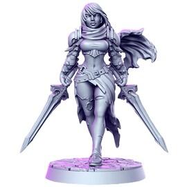 Melisa - Łowca, Figurka RPG