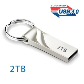 Memory USB Stick U - 3.0 Flash Drives Metal Keychain 512G | 1TB | 2TB