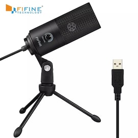 Metal USB Condenser Recording Microphone For Laptop Windows