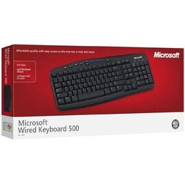 Microsoft Wired Desktop 500 french