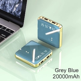 Mini Power Bank Light Blue 1000-2999 mAh