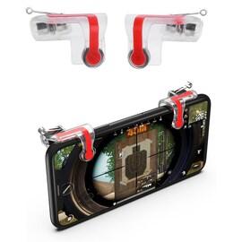 MN Mobile Phone Gaming Fire Button Key Joysticks Game Shooter Controller 1 Pair