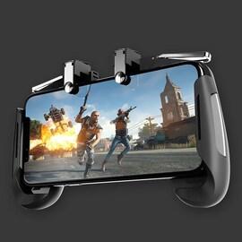 Mobile Phone Game Controller for PUBG Compatible L1R1 Trigger Joystick