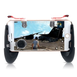 Mobile Phone Game Controller Trigger Fire Button Joystick Gamepad 4in1