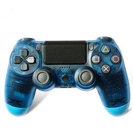 Newest PS4 Controller Dual Shock 4th Bluetooth Wireless Gamepad Joystick Remote Transparent Blue