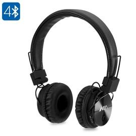 NIA X3 Bluetooth Headphones - 40mm HD Drivers, FM Radio, SD Card Slot, Wireless Headphones