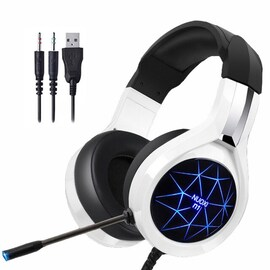 NUOXI N1 Stereo Gaming Headset White