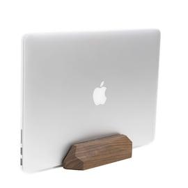 Oakywood - Wooden Vertical Laptop Stand - Walnut