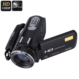 Ordro Z20 Wi-Fi Digital Video Camera - 1/4 Inch 8MP CMOS Sensor, 1080p Video, 24 MP Photos, 16x Digital Zoom