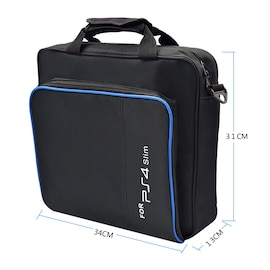 Original Handbag for PS4 Slim with Case Protector and Shoulder Carrying