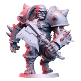 Orktar - ork wojownik, Figurka RPG