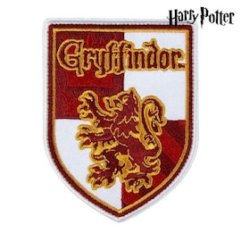 Patch Gryffindor Harry Potter Red White Polyester