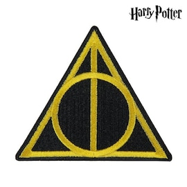 Patch Harry Potter Yellow Black Polyester