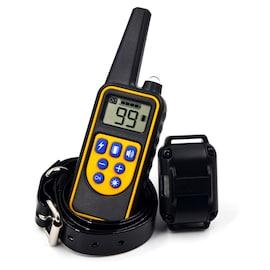 Pet Dog Electric Shock Training Collar 1000m IP7 Depth Waterproof Remote Control Dog Device Anti Barking
