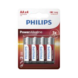 PHILIPS Bateria alkaliczna - AA Power Alkaline 1.5 V - 4 szt.
