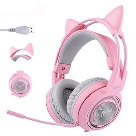 Pink Gaming Headset 7.1 Pink