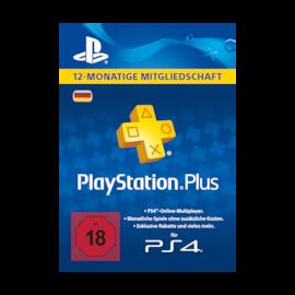 PlayStation Network Plus Card 365 Tage (DE) (PSN-Code)
