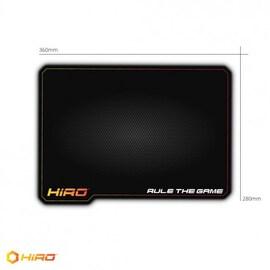 PODKŁADKA POD MYSZ GAMINGOWA, HIRO G8 360X280MM Black Gaming