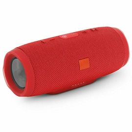Portable Waterproof Bluetooth Speaker Wireless Bass Subwoofer - Red