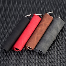Pouch Bag Protective Holder IQOS3 Wallet Case Electronic Cigarette PU Leather Carrying Case Holder Cover Brown
