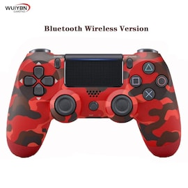 PS4 Controller Bluetooth Gamepad For DualShock 4 Wireless Controller FOR SONY PlayStation Pro/Slim/PC/Android/IOS/iPad Black/Red