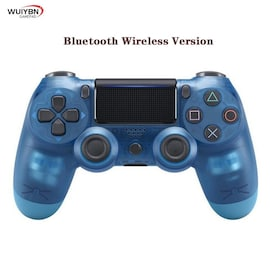 PS4 Controller Bluetooth Gamepad For DualShock 4 Wireless Controller FOR SONY PlayStation Pro/Slim/PC/Android/IOS/iPad  Blue