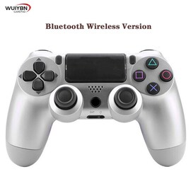 PS4 Controller Bluetooth Gamepad For DualShock 4 Wireless Controller FOR SONY PlayStation Pro/Slim/PC/Android/IOS/iPad Silver
