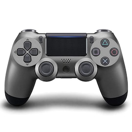 PS4 Controller Shock 4th Bluetooth Wireless Gamepad Joystick Remote Steel Black