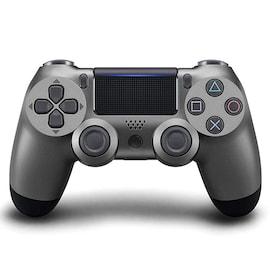 PS4 Controller Shock 4th Bluetooth Wireless Gamepad Joystick Remote Steel Black