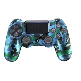 PS4 Controller Silicone Camo Protective Skin Case For Sony Dualshock Controller Thumb Grips