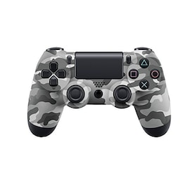 PS4 Playstation 4 Controller Console Control Double Shock 4th Bluetooth Wireless Gamepad Joystick Remote Grey camouflage Gray