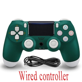 PS4 Wired Controller Dual Shock 4 Gamepad For Sony Playstation 4 Alpine Green