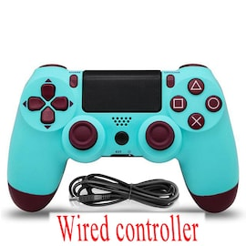 PS4 Wired Controller Dual Shock 4 Gamepad For Sony Playstation 4 Berry Blue