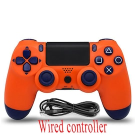 PS4 Wired Controller Dual Shock 4 Gamepad For Sony Playstation 4 Sunset Orange