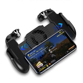 PUBG Controller Gamepad, H5 Mobile Gaming Trigger Black