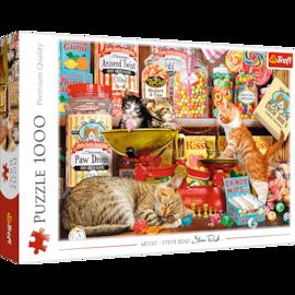Puzzle - Kocie słodkości - 1000 el. Multi-Colored