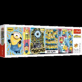 Puzzle - Minionki - 1000 el. Multi-Colored